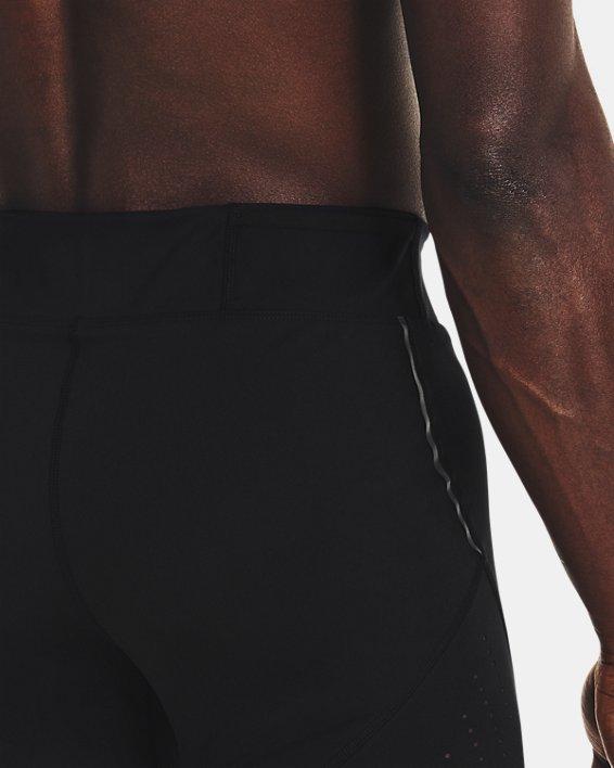 Men's UA Speedpocket Tights, Black, pdpMainDesktop image number 5