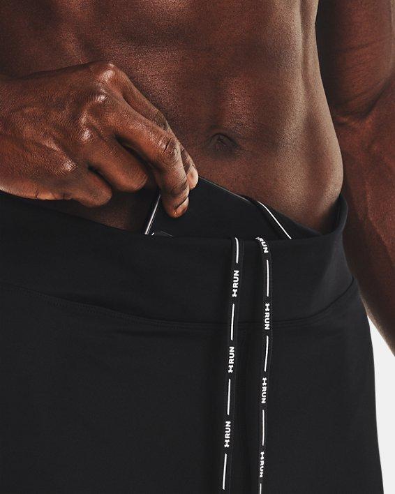 Men's UA Speedpocket Tights, Black, pdpMainDesktop image number 6