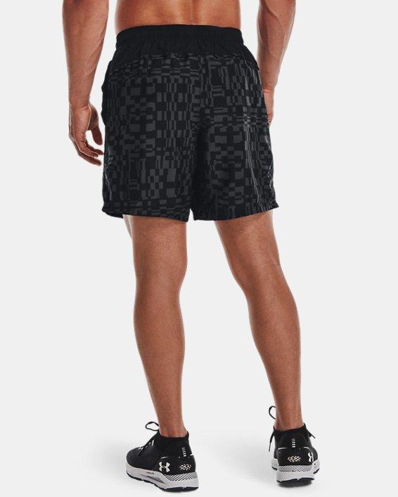 Men's UA Speed Stride Print Shorts, Black, pdpMainDesktop image number 2