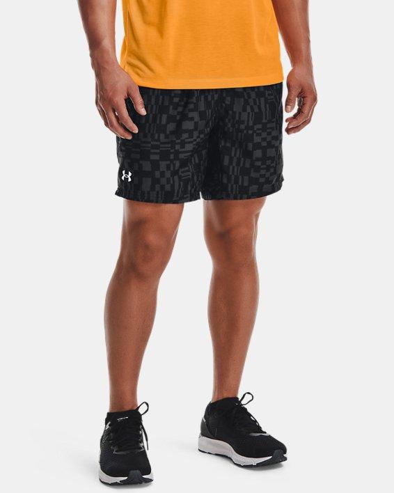 Men's UA Speed Stride Print Shorts, Black, pdpMainDesktop image number 1