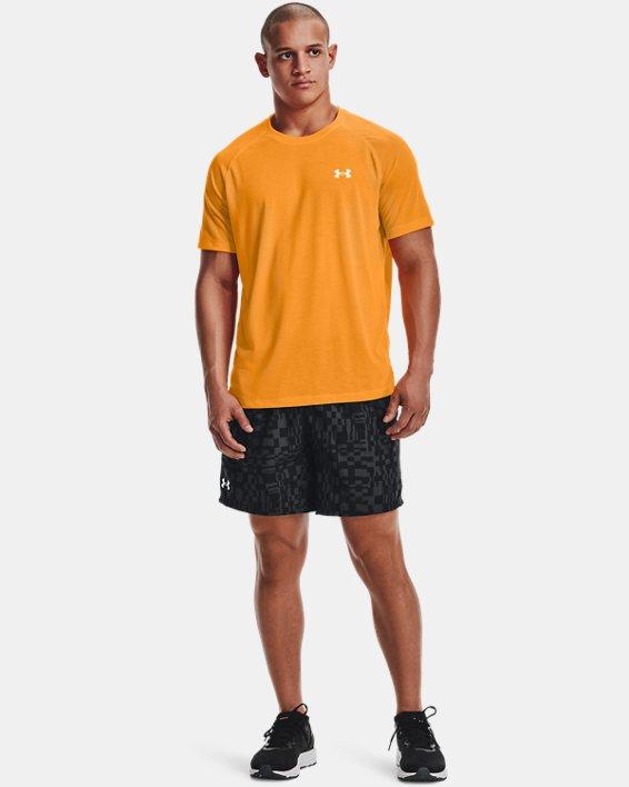 Men's UA Speed Stride Print Shorts, Black, pdpMainDesktop image number 0