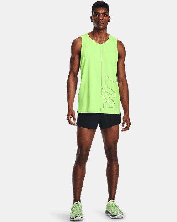 Pantalón corto UA Launch Run Split para hombre, Black, pdpMainDesktop image number 0