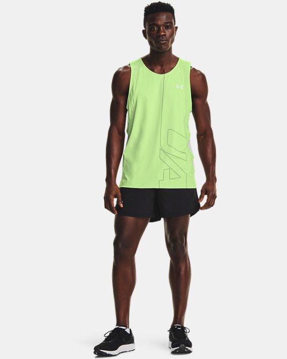 "Men's UA Launch Run 5"" Shorts, Black, pdpMainDesktop image number 0"