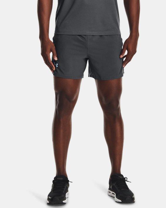 "Men's UA Launch Run 5"" Shorts, Gray, pdpMainDesktop image number 1"