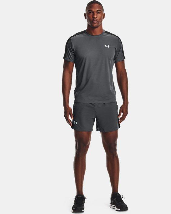 "Men's UA Launch Run 5"" Shorts, Gray, pdpMainDesktop image number 0"
