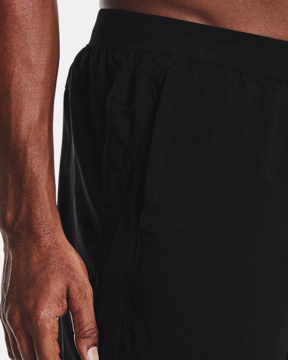 "Men's UA Launch Run 7"" Shorts, Black, pdpMainDesktop image number 4"