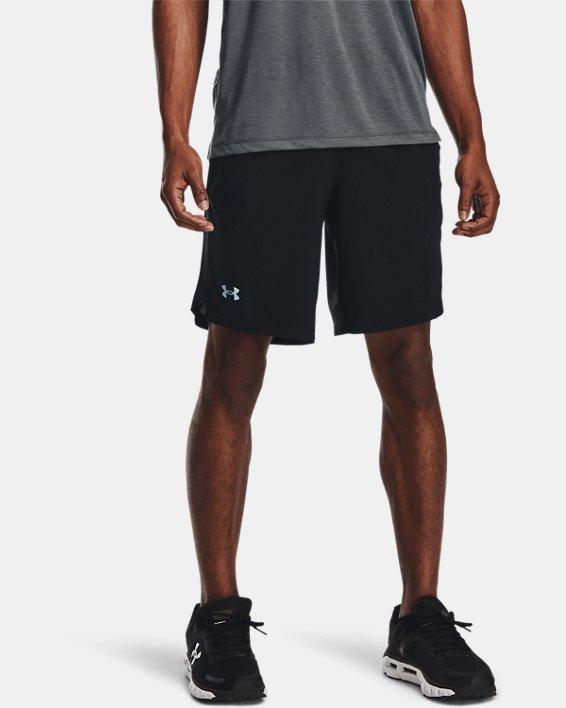 "Men's UA Launch Run 9"" Shorts, Black, pdpMainDesktop image number 0"