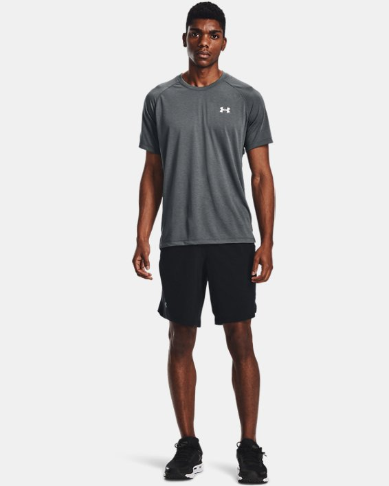 "Men's UA Launch Run 9"" Shorts, Black, pdpMainDesktop image number 2"