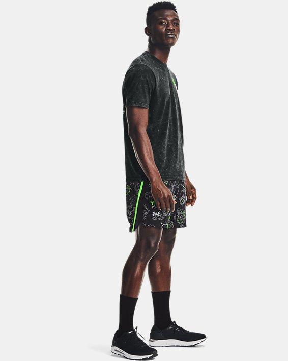 "Men's UA Launch 7"" Run Your Face Off Shorts, Black, pdpMainDesktop image number 0"