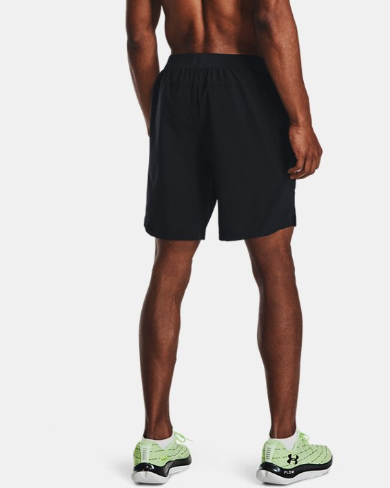 Men's UA Launch Run 2-in-1 Shorts, Black, pdpMainDesktop image number 2