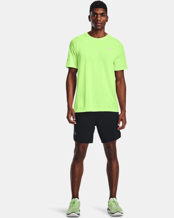 Men's UA Launch Run 2-in-1 Shorts, Black, pdpMainDesktop image number 0