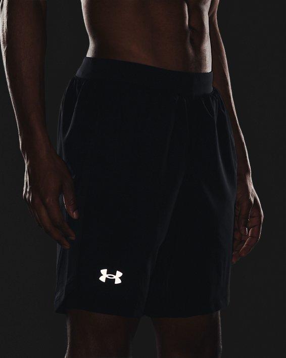 Men's UA Launch Run 2-in-1 Shorts, Black, pdpMainDesktop image number 5