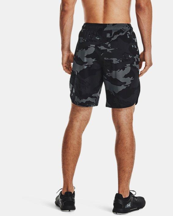 Men's UA Train Stretch Camo Shorts, Gray, pdpMainDesktop image number 2