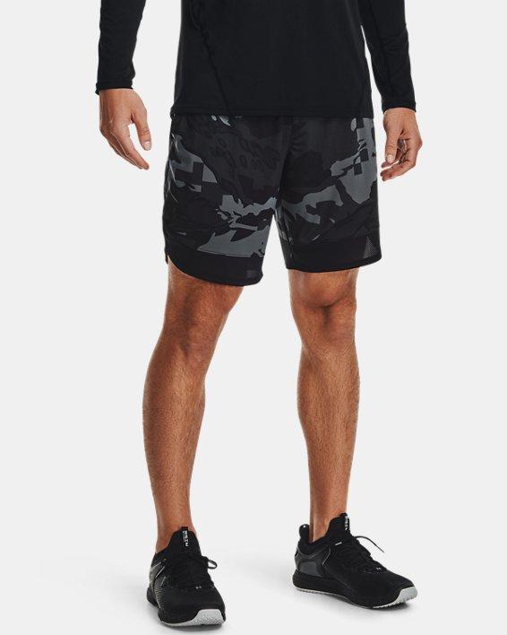 Men's UA Train Stretch Camo Shorts, Gray, pdpMainDesktop image number 1