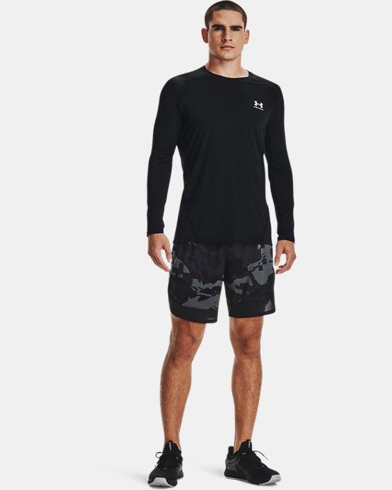 Men's UA Train Stretch Camo Shorts, Gray, pdpMainDesktop image number 0