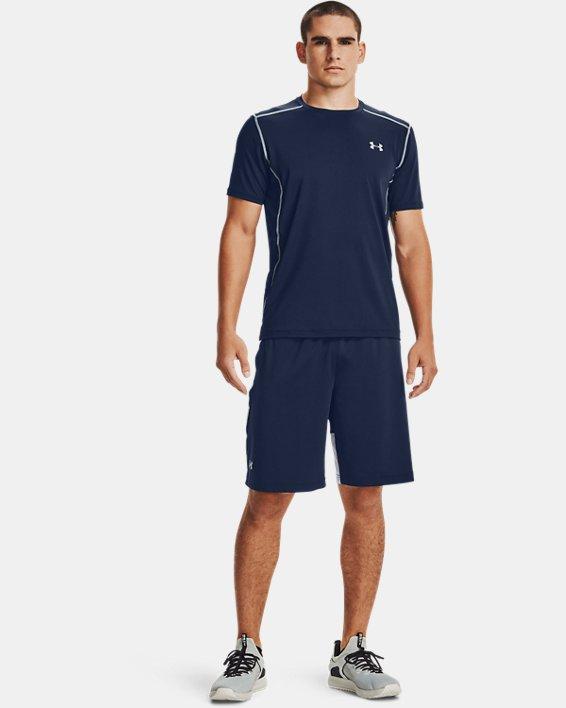 Men's UA Raid 2.0 Shorts, Navy, pdpMainDesktop image number 2