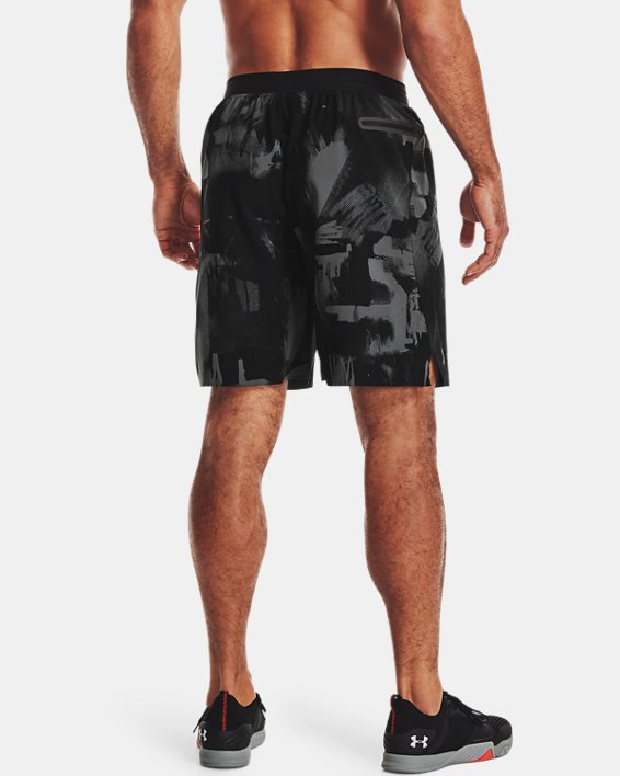 Men's UA Reign Woven Shorts, Black, pdpMainDesktop image number 1