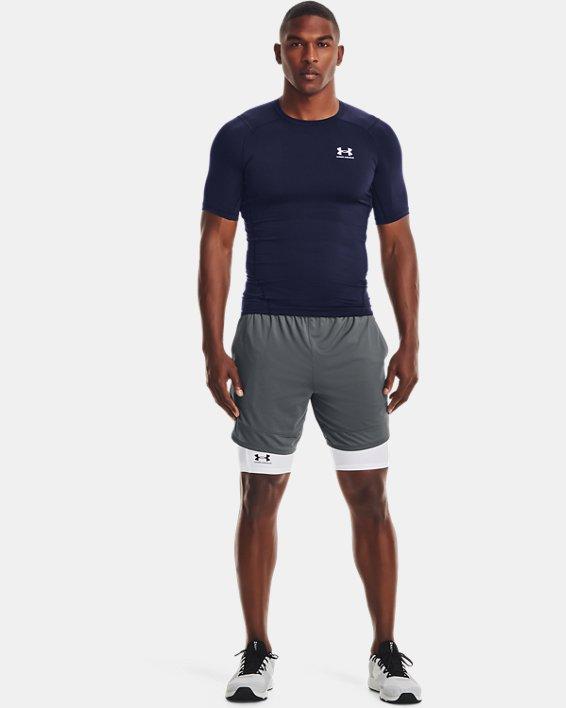 Herren T-Shirt HeatGear® Armour, Navy, pdpMainDesktop image number 0