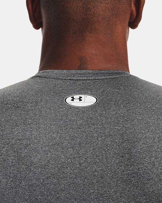Herren HeatGear® Armour Ärmelloses Shirt, Gray, pdpMainDesktop image number 5