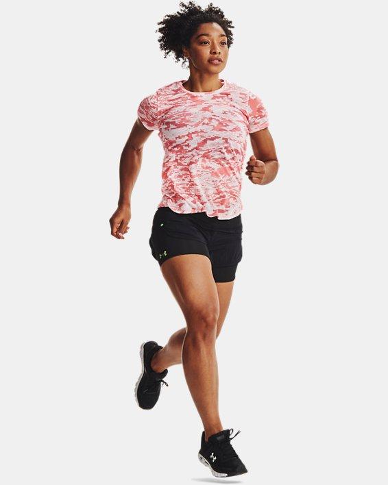 Women's UA RUSH™ Run 2-in-1 Shorts, Black, pdpMainDesktop image number 6