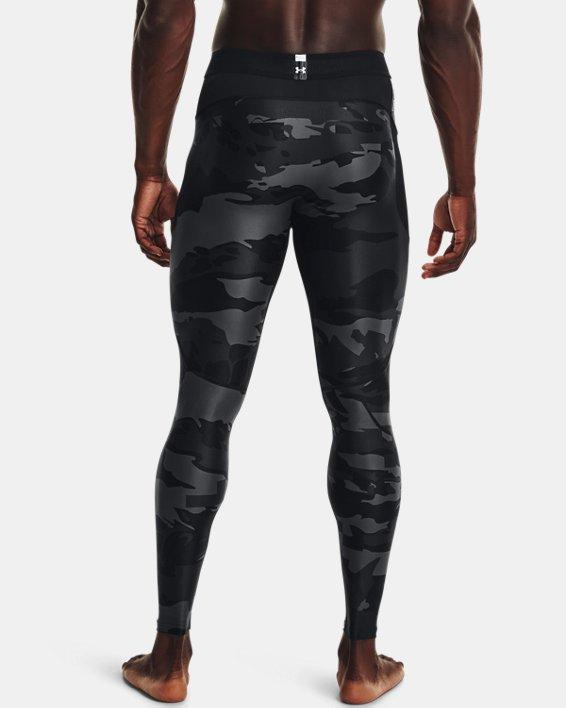 Men's UA Iso-Chill Printed Leggings, Black, pdpMainDesktop image number 2