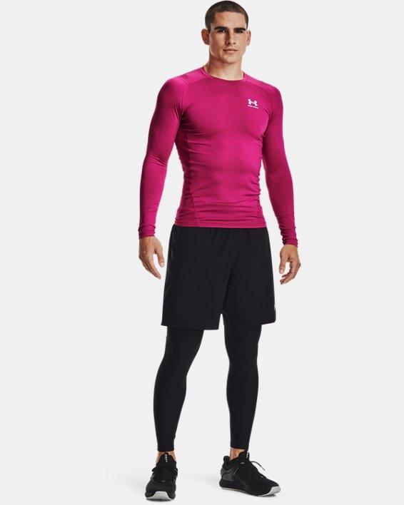 Men's HeatGear® Armour Leggings, Black, pdpMainDesktop image number 0
