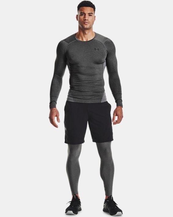 Men's HeatGear® Armour Leggings, Gray, pdpMainDesktop image number 0