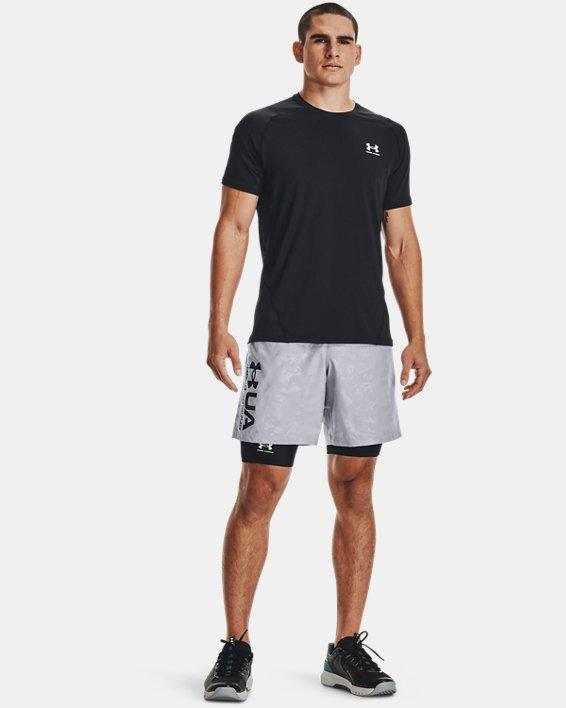 Men's HeatGear® Pocket Long Shorts, Black, pdpMainDesktop image number 2
