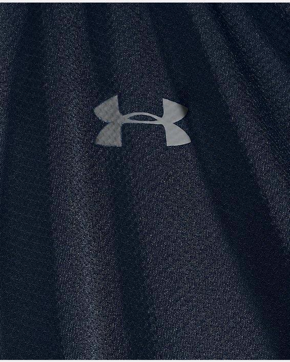 Men's UA Performance Textured Long Sleeve Polo, Navy, pdpMainDesktop image number 4