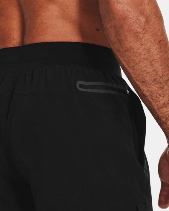 Herren Project Rock Shorts mit Druckknopfleisten, Black, pdpMainDesktop image number 4