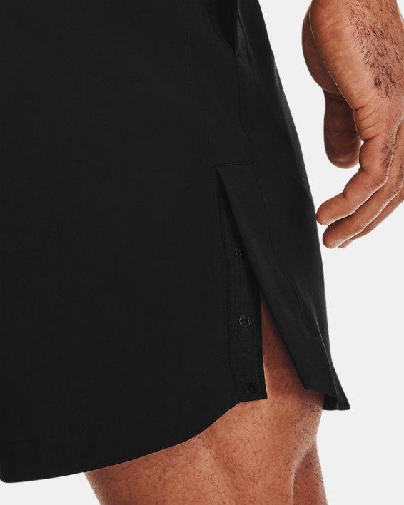 Herren Project Rock Shorts mit Druckknopfleisten, Black, pdpMainDesktop image number 5