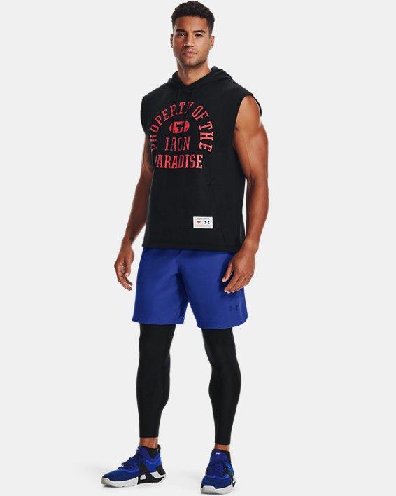 Men's Project Rock Snap Shorts, Blue, pdpMainDesktop image number 2