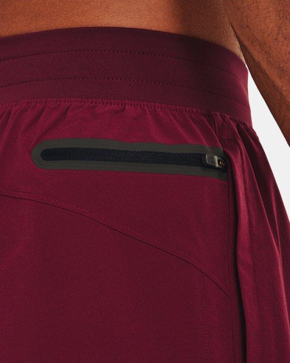 Men's Project Rock Snap Shorts, Red, pdpMainDesktop image number 3