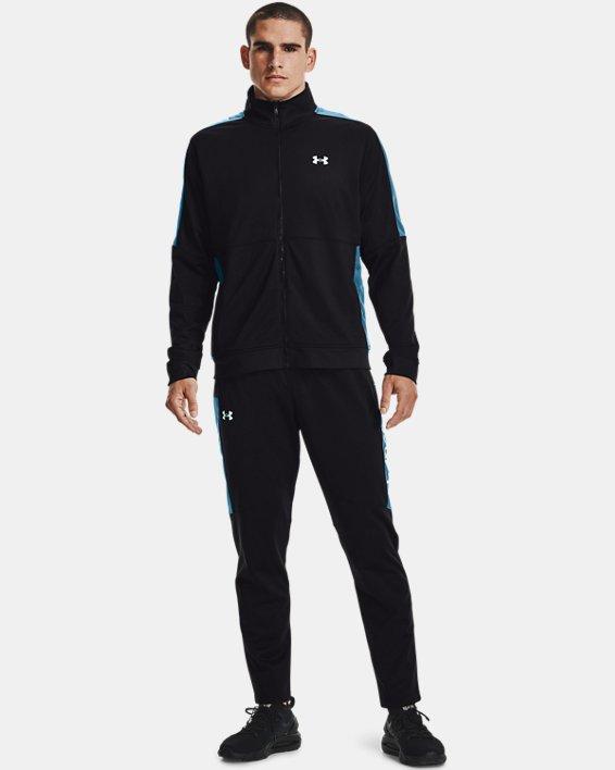 Men's UA Sportstyle Graphic Track Jacket, Black, pdpMainDesktop image number 0