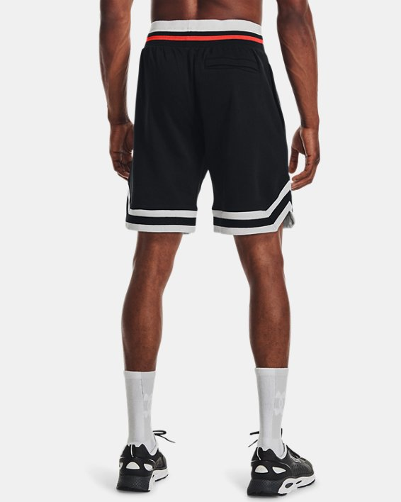 Men's UA Rival Fleece Alma Mater Shorts, Black, pdpMainDesktop image number 2