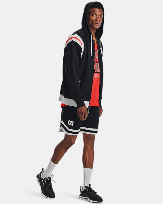 Men's UA Rival Fleece Alma Mater Shorts, Black, pdpMainDesktop image number 0