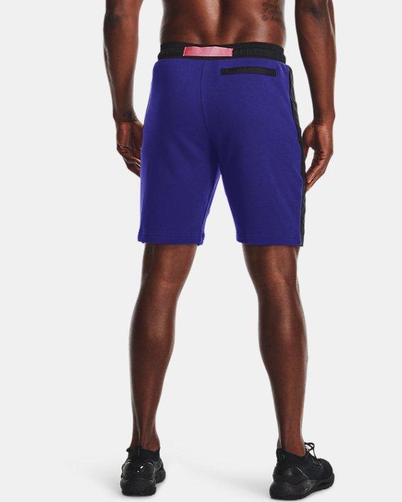 Men's UA Rival Terry AMP Shorts, Blue, pdpMainDesktop image number 2