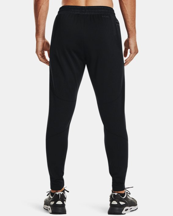 Men's Armour Fleece® Storm Pants, Black, pdpMainDesktop image number 1