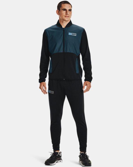 Men's Armour Fleece® Storm Pants, Black, pdpMainDesktop image number 2