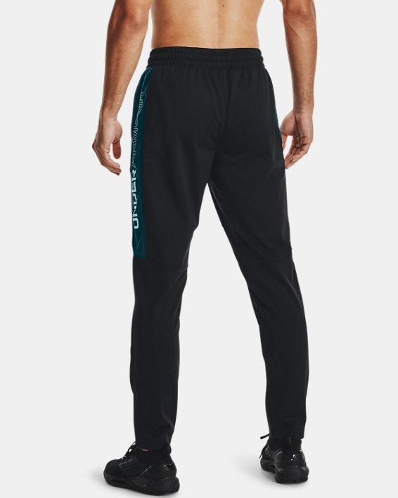 Men's UA Sportstyle Graphic Track Pants, Black, pdpMainDesktop image number 2