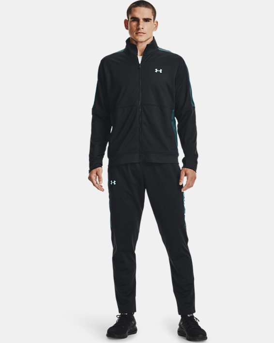 Men's UA Sportstyle Graphic Track Pants, Black, pdpMainDesktop image number 0