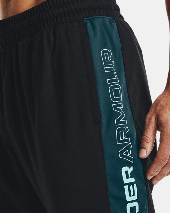 Men's UA Sportstyle Graphic Track Pants, Black, pdpMainDesktop image number 3