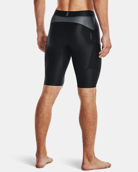 Men's Project Rock Iso-Chill Shorts, Black, pdpMainDesktop image number 2