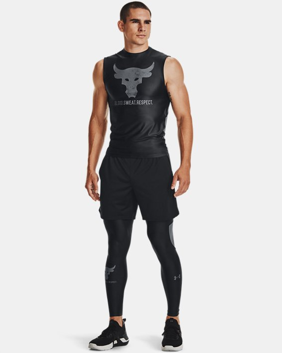 Men's Project Rock Iso-Chill Sleeveless, Black, pdpMainDesktop image number 0