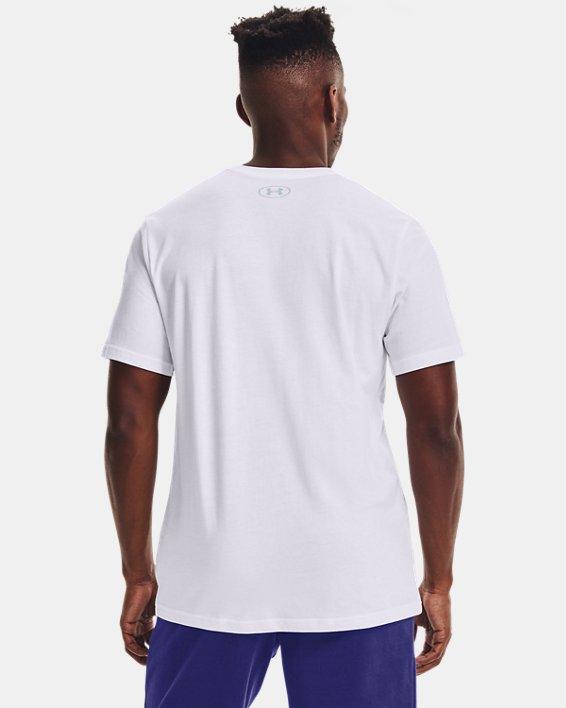 Men's UA Performance Apparel Short Sleeve, White, pdpMainDesktop image number 2