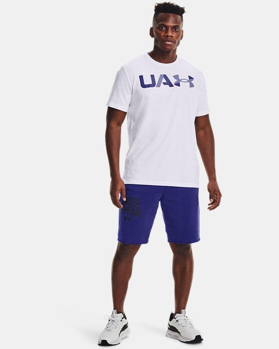 Men's UA Performance Apparel Short Sleeve, White, pdpMainDesktop image number 0