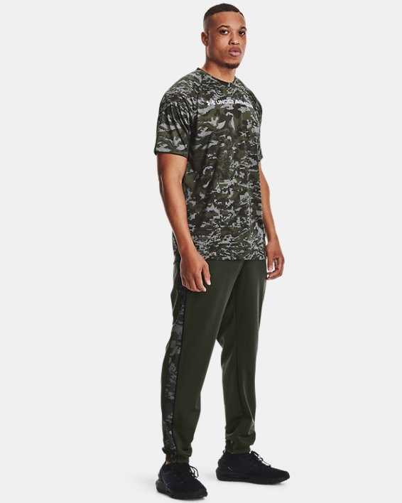 Men's UA Tech™ ABC Camo Short Sleeve, Gray, pdpMainDesktop image number 2