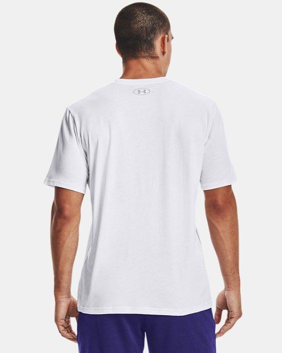 Camiseta de manga corta UA Pride Courage, White, pdpMainDesktop image number 2