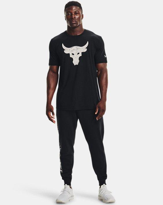 Men's Project Rock Brahma Bull Short Sleeve, Black, pdpMainDesktop image number 2
