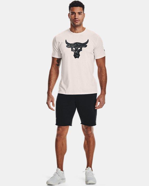 Men's Project Rock Brahma Bull Short Sleeve, White, pdpMainDesktop image number 2
